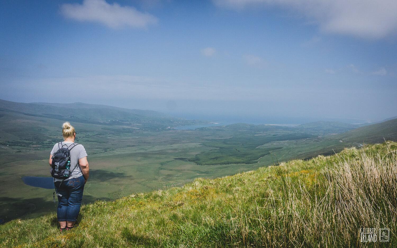 Blick am Connor Pass Dingle von geliebtes Irland