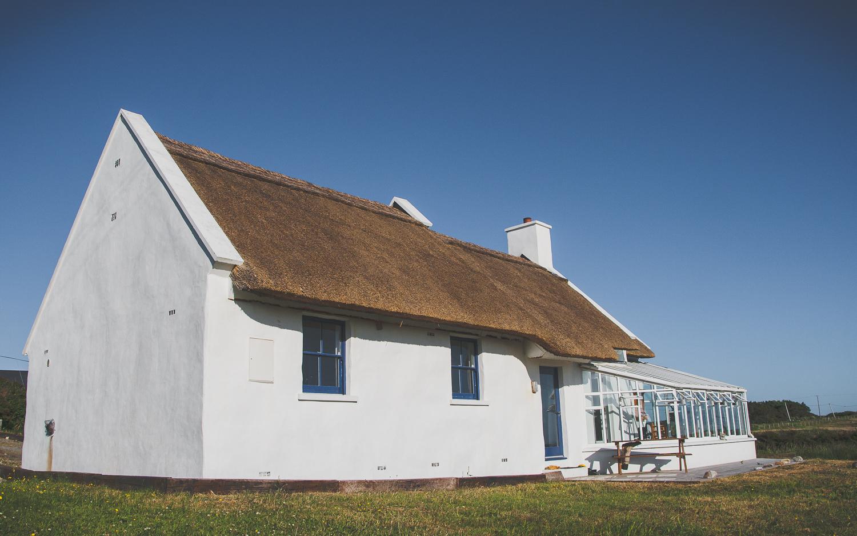 Typisch irisches Cottage in Connemara von geliebtes Irland